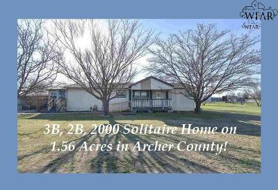 Single Family Home For Sale: 7049 S Hwy 79