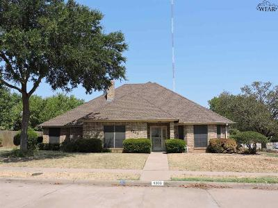 Wichita County Single Family Home For Sale: 4300 Chelsea Drive
