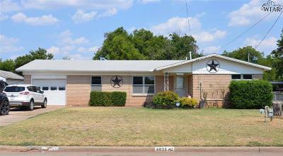 Wichita Falls Single Family Home For Sale: 1021 Harris Lane
