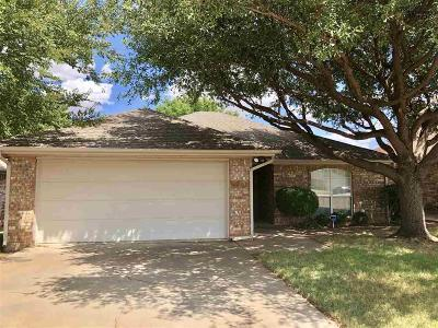 Wichita Falls Single Family Home Active W/Option Contract: 4700 Matterhorn Drive