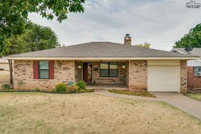 Wichita Falls Single Family Home For Sale: 1509 Hursh Avenue
