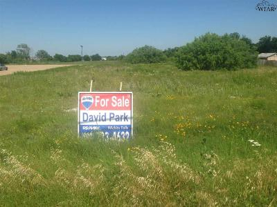 Wichita Falls Residential Lots & Land For Sale: 3411 Sheppard Access Road