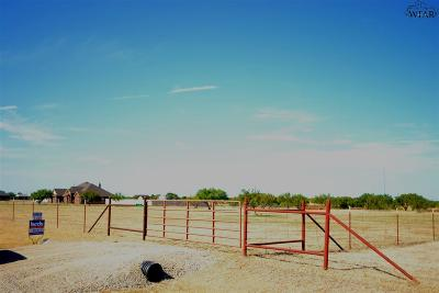 Wichita Falls Residential Lots & Land For Sale: 455 Red Rock Road