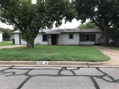 Wichita Falls Single Family Home For Sale: 1111 Covington Street