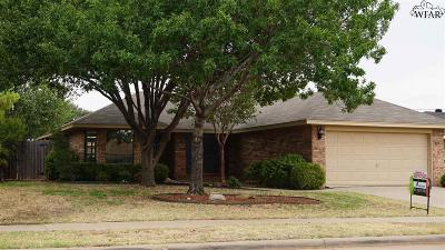 Wichita Falls Single Family Home For Sale: 6004 Sandy Hill Boulevard
