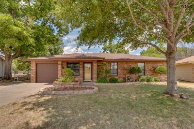 Wichita Falls Single Family Home Active W/Option Contract: 2914 Boren Avenue