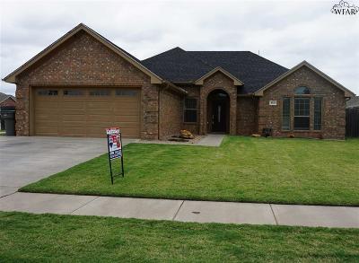 Wichita Falls Single Family Home For Sale: 4926 Olivia Lane