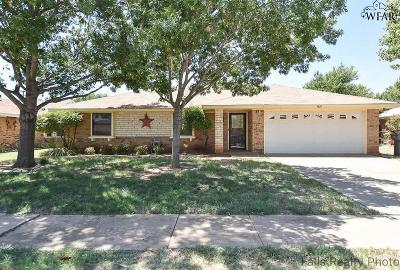 Wichita Falls Single Family Home For Sale: 4610 Misty Valley Street East