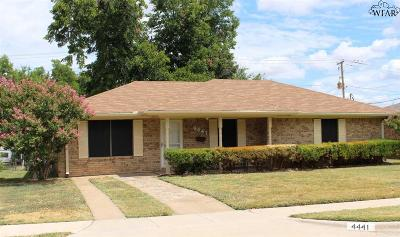 Wichita Falls Single Family Home For Sale: 4441 McNiel Avenue