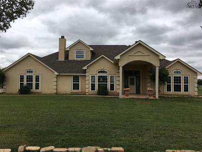 Iowa Park Single Family Home For Sale: 381 E Fm 367