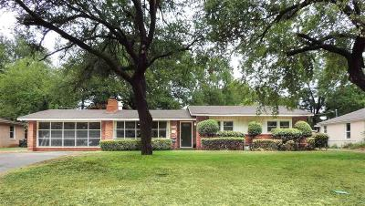 Wichita Falls Single Family Home Active W/Option Contract: 2404 Fain Street