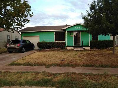 Wichita Falls TX Single Family Home For Sale: $26,500