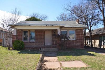 Wichita Falls Single Family Home For Sale: 1700 Beverly Drive