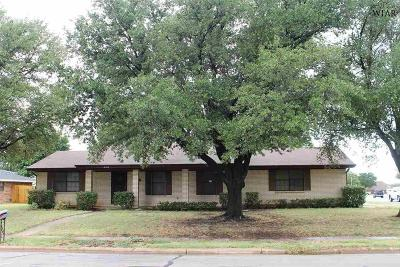 Wichita Falls Single Family Home For Sale: 4312 York Street