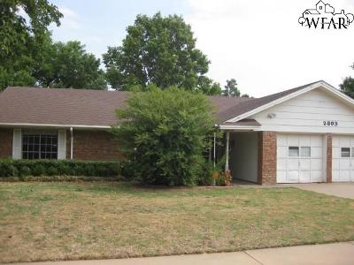 Wichita Falls Single Family Home For Sale: 2803 Elmwood Avenue