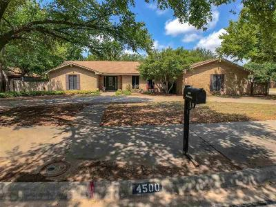 Wichita County Single Family Home For Sale: 4500 Barbados Drive