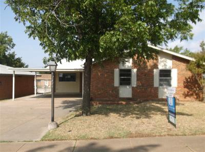 Wichita Falls Single Family Home For Sale: 4720 Gay Street