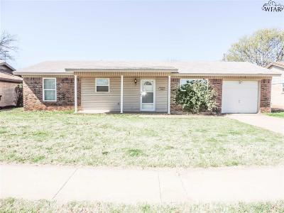 Wichita Falls TX Single Family Home For Sale: $69,900