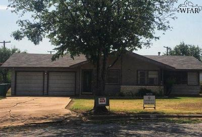 Wichita County Single Family Home For Sale: 400 West Avenue
