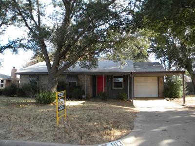 Burkburnett Single Family Home For Sale: 913 Patricia Street
