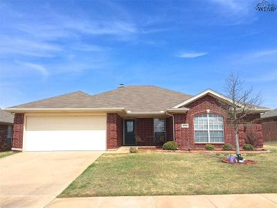 Wichita Falls Single Family Home For Sale: 6030 Sandy Hill Boulevard