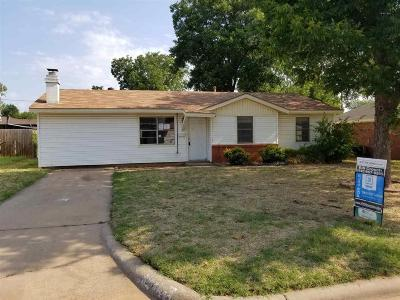Wichita Falls Single Family Home For Sale: 4108 Palomino Street