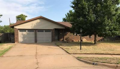 Wichita Falls Single Family Home For Sale: 6 Jeffrey Circle