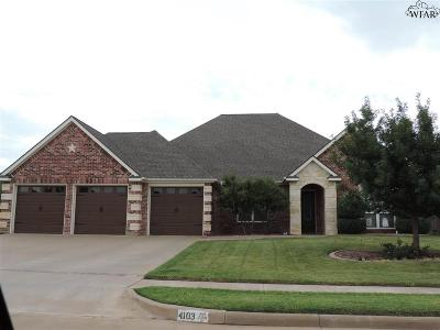 Wichita Falls Single Family Home For Sale: 4103 Candlewood Circle