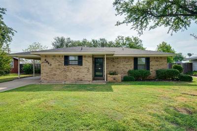 Wichita County Single Family Home For Sale: 4643 University Avenue