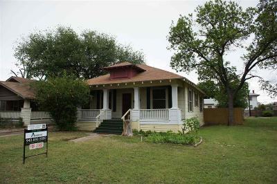 Wichita County Rental For Rent: 1812 11th Street