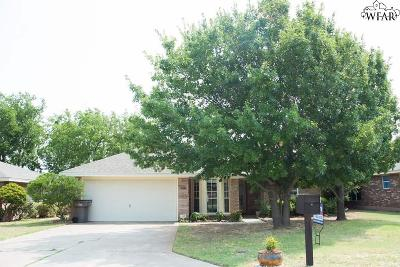 Wichita Falls Single Family Home For Sale: 2127 Richmond Drive