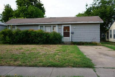 Wichita Falls Single Family Home For Sale: 3209 York Street