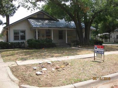 Wichita Falls Single Family Home For Sale: 1515 Hayes Street