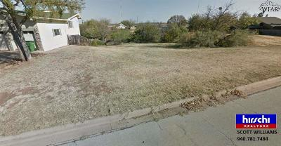 Wichita Falls TX Residential Lots & Land For Sale: $11,000