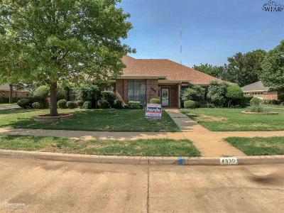 Single Family Home For Sale: 4330 Chelsea Drive