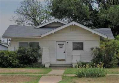 Wichita Falls Single Family Home For Sale: 1717 Collins Avenue