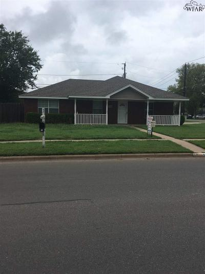 Burkburnett TX Single Family Home For Sale: $134,900