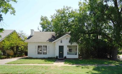 Wichita Falls Single Family Home For Sale: 2115 Garfield Street