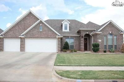 Wichita Falls Single Family Home For Sale: 5126 Cathedral Lane