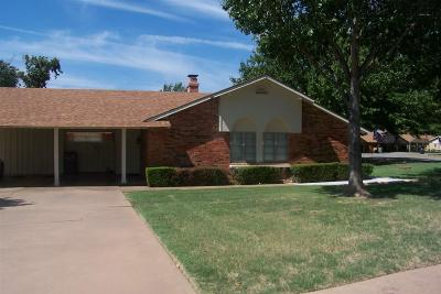 Wichita Falls Single Family Home For Sale: 4510 Spanish Trace