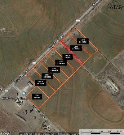 Wichita Falls Residential Lots & Land For Sale: 2.5 Ac Fm 171