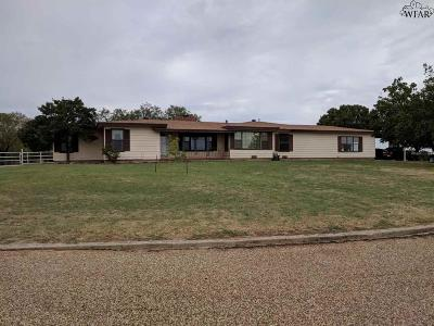 Wichita Falls Single Family Home Active-Contingency: 9062 Seymour Highway