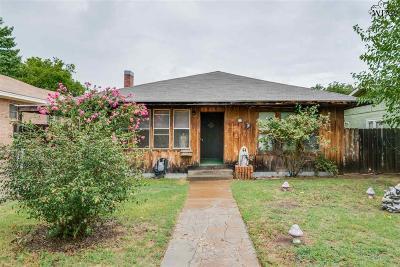 Wichita Falls Single Family Home For Sale: 2004 Pearl Avenue