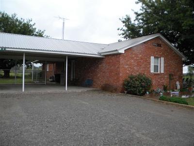 Burkburnett TX Single Family Home Active W/Option Contract: $279,900