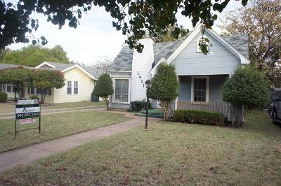 Wichita County Rental For Rent: 1811 Hayes Street