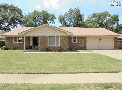 Wichita Falls Single Family Home For Sale: 4402 Caston Lane
