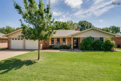 Wichita Falls Single Family Home For Sale: 4524 Prince Edward Drive