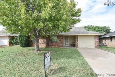 Iowa Park Single Family Home For Sale: 1213 Richland Street