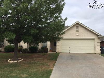 Wichita Falls Single Family Home For Sale: 4918 Legacy Drive