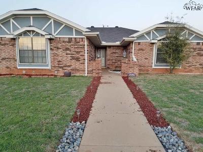 Wichita Falls TX Single Family Home For Sale: $130,000